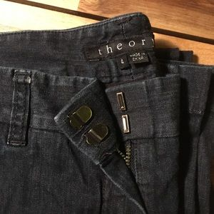 "Theory Trouser ""Bricker"" Jeans"